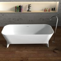 Cheviot Palermo 70.75-Inch Solid Surface Bathtub in White