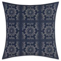 Nautica® Lockridge Bandana Square Pillow in Navy