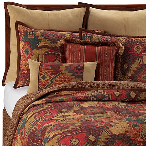 Santa Fe Quilt 100 Cotton Bed Bath Beyond