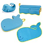 SKIP*HOP® Moby 4-Piece Bathtime Essentials Kit in Blue