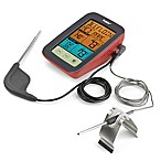 Polder® Digital BBQ/Smoker Dual Temperature Reading Thermometer