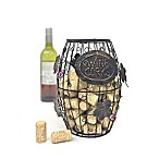 Mind Reader Decorative Wine Cork Holder in Bronze