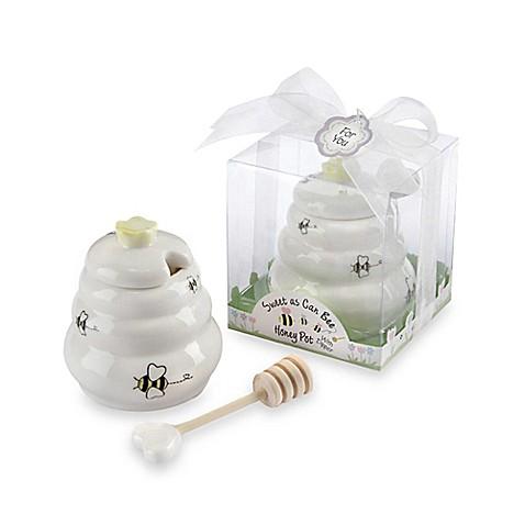 buy kate aspen honey pot with wooden dipper baby shower favor from