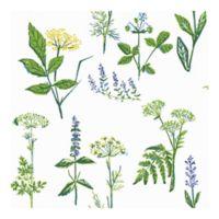 Wall Vision Köksväxter Floral Wallpaper in Green