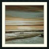 Amanti Art Hightide 34-Inch Square Framed Wall Art