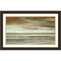 The Surf 44-Inch x 28-Inch Framed Wall Art