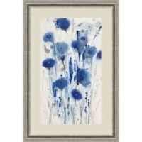 Amanti Art Blue Impressions I 25-Inch x 37-Inch Framed Wall Art