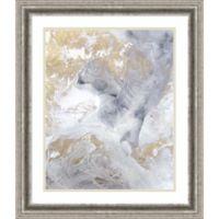 Amanti Gold Fusion II 24.13-Inch x 27.13-Inch Framed Wall Art