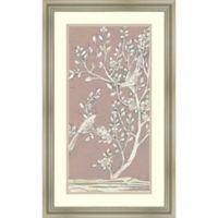 Amanti Art Sweet Chinoiserie 17-Inch x 28-Inch Framed Wall Art