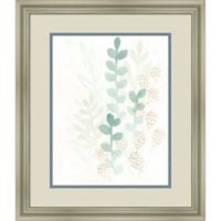 Amanti Art Sprout Flowers 19-Inch x 23-Inch Framed Wall Art