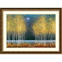 Amanti Art Blue Moon 44-Inch x 33-Inch Framed Art Print