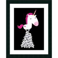 Amanti Art Killer Unicorn 30.13-Inch x 38.13-Inch Framed Wall Art