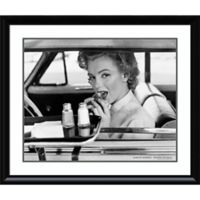 Amanti Art Marilyn Monroe Drive-In 1952 33-Inch x 39-Inch Framed Wall Art