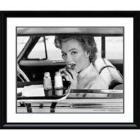 Amanti Art Marilyn Monroe Drive-In 1952 33-Inch x 39-Inch Framed Wall Art