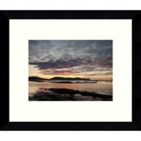 Amanti Art Broadford Sunset 9-Inch x 11-Inch Framed Wall Art