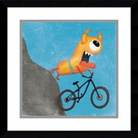 Amanti Art Xtreme Monsters I 17-Inch Square Framed Wall Art