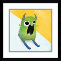 Amanti Art Xtreme Monsters II 17-Inch Square Framed Wall Art