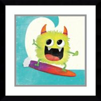 Amanti Art Xtreme Monsters III 17-Inch Square Framed Wall Art