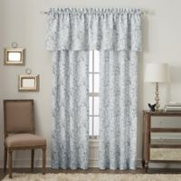 Orchard Street Window Valance in Grey