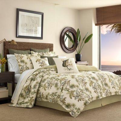 tommy bahama nador california king comforter set in neutral