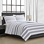 Carver Full/Queen Comforter Set in Grey
