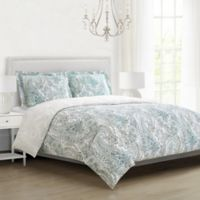 Ravenna Full/Queen Comforter Set in Green