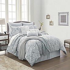 Orchard Street 10-Piece Comforter Set in Grey