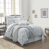 Orchard Street 10-Piece California King Comforter Set in Grey