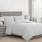 Seabrook King Comforter Set in Grey