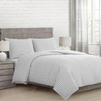 Seabrook Full/Queen Comforter Set in Grey