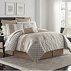 VCNY Home Adisha 8-Piece Queen Comforter Set in Neutral