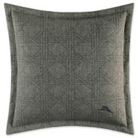 Tommy Bahama® Palms Away Square Throw Pillow in Dark Sage