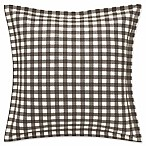 Eddie Bauer® Kingston European Pillow Sham in Charcoal