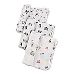 Little Unicorn The Boss Baby Toy Box Muslin Swaddle Blankets (Set of 3)
