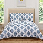 Truly Soft Annika Reversible Full/Queen Comforter Set in Navy