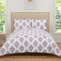 Truly Soft Annika Reversible Full/Queen Comforter Set in Orchid