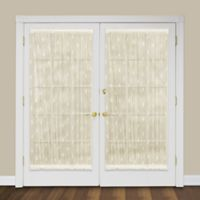 Heritage Lace® Pineapple 72-Inch Rod Pocket Door Panel in Ecru