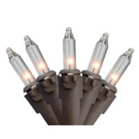 Northlight 35-Light Incandescent Mini Lights in Brown