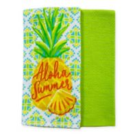 Summer Pineapple Kitchen Towels (Set of 2)