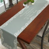 Personalized Family Blessings Table Runner