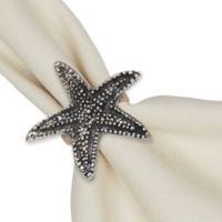 Design Imports Starfish Napkin Rings (Set of 4)