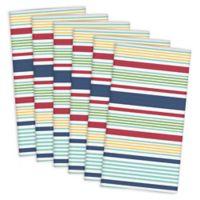 Design Imports Basic Striped Napkins (Set of 6)