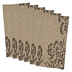 Design Imports French Scroll Buffet Napkins (Set of 6)