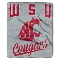 Washington State University Raschel Throw