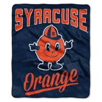 Syracuse University Raschel Throw Blanket