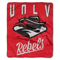 University of Nevada Las Vegas Raschel Throw Blanket