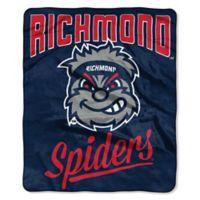 NCAA Richmond University Super Plush Raschel Throw Blanket