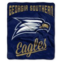 NCAA Georgia Southern University Super Plush Raschel Throw Blanket