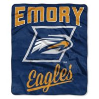 NCAA Emory University Super Plush Raschel Throw Blanket