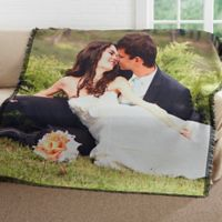 Picture It! Wedding Woven Throw Blanket